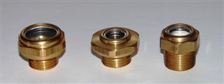 Oil Level standard, oil sight glass brass
