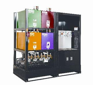 Oil Safe Bulk Storage Systems, lubricant storage and conditioning systems with tanks or reservoirs