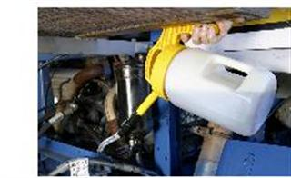 Oil Safe oil cans : the only best practice oil can, container, bottle for top ups, oil change etc.