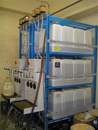Lubristation S stockagesysteem olie met oliebar