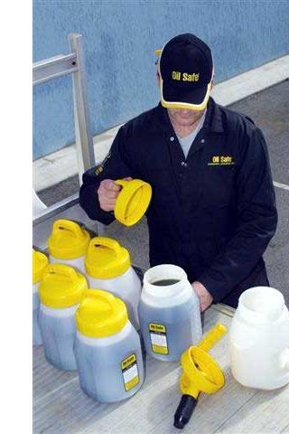 Oil Safe Afsluitdeksel applicatie