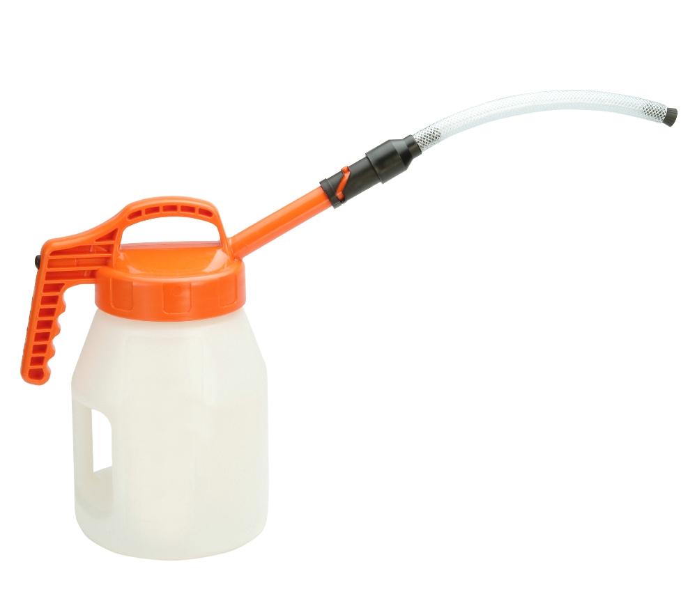 Oil Safe stretch spout extention hose