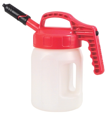 Oil Safe Mini Spout Lid combination