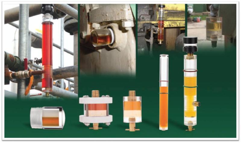 Oil Sight glass, oil level, 3D level, 3D Bulls eye, oil monitor, oil level indicator, oil level monitor