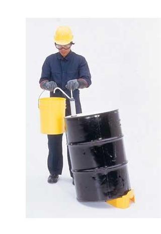 Veiligheidsbehandeling, opslag en hulpmiddelen vaten