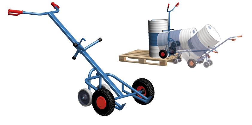 Drum cart , vaten wagen, vatenkar 4 wielen