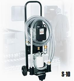 Decolube lubricant filter cart compact and budget friendly