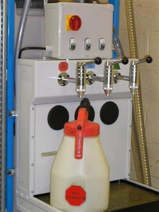 Lubristation C : Oil Safe kan en oliebar