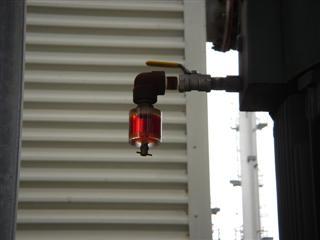 Olie inspectie glass