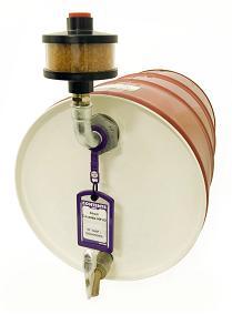 Lubesec breather dryer driger beluchter type DVD0 op tank