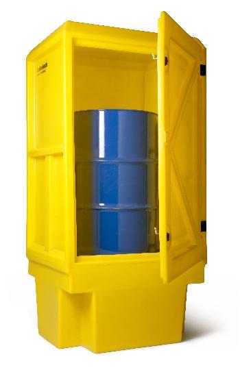 1 Drum Storage Cabinet Outdoor Lubretec Bvba