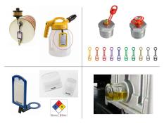 Lubricant-identification-color-coding