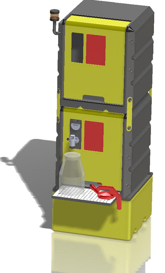 Lustor System LS500 500 liter storage system for oils