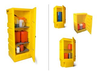 Plastic outdoor Oil Safe Storage cabinets
